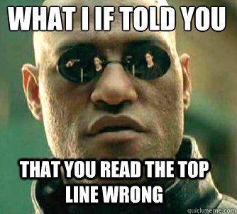Memes Read Wrong